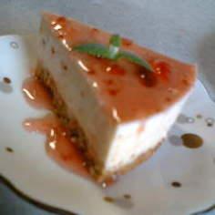 ブルーベリー・苺のヨーグルトケーキ