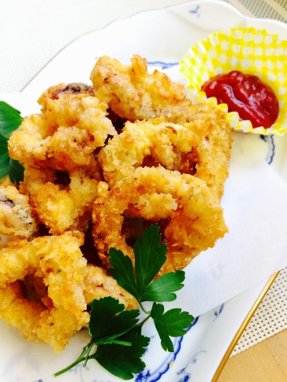 サックリ美味♡カラマリ〈イカフライ〉