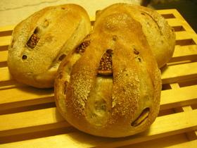 イチジクルミのライ麦パン@BunBun