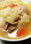 ぶっこみ煮スープ