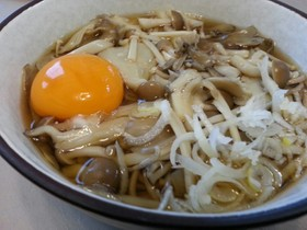簡単!美味!ヘルシーきのこ蕎麦