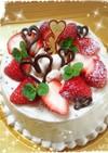 ♥一緒に食べた~い♥チョコムースケーキ♥