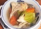美容に♡シンプルおいしい☆手羽元のスープ