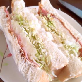 3分でできる!簡単サンドイッチ!