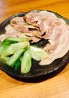 豚バラとネギの塩焼き*