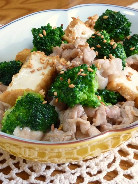 ✜豚ブロと厚揚げで…中華風炒め煮✜