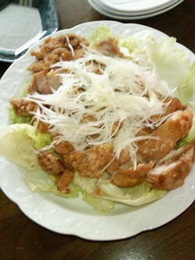 簡単豪華★鶏の竜田揚げ甘酢ソース★
