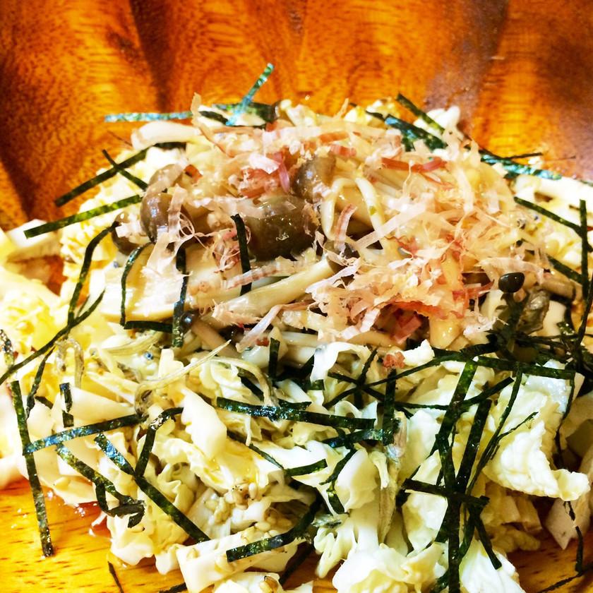 ★時短料理★ごま油香る和風白菜サラダ