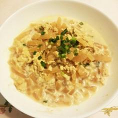 大根と豆腐の炒り煮 ~母の味~
