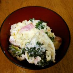 ブロッコリーのチーズクリームポテトサラダ