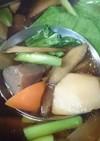 正月の余った野菜で けんちん汁