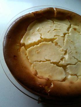 お手軽チーズケーキ