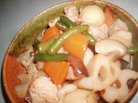 お野菜たっぷり★基本の筑前煮
