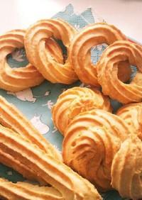 軽い食感の型なし焼きドーナツ