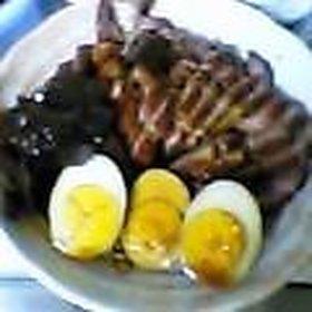 フライパン1つで簡単煮豚♪