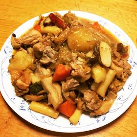 チムタク (韓国の鶏肉煮物)