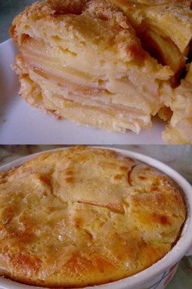 リンゴヨーグルトケーキ