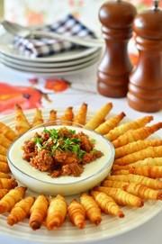トルコ家庭料理☆カリカリ繭ミニスティックの写真