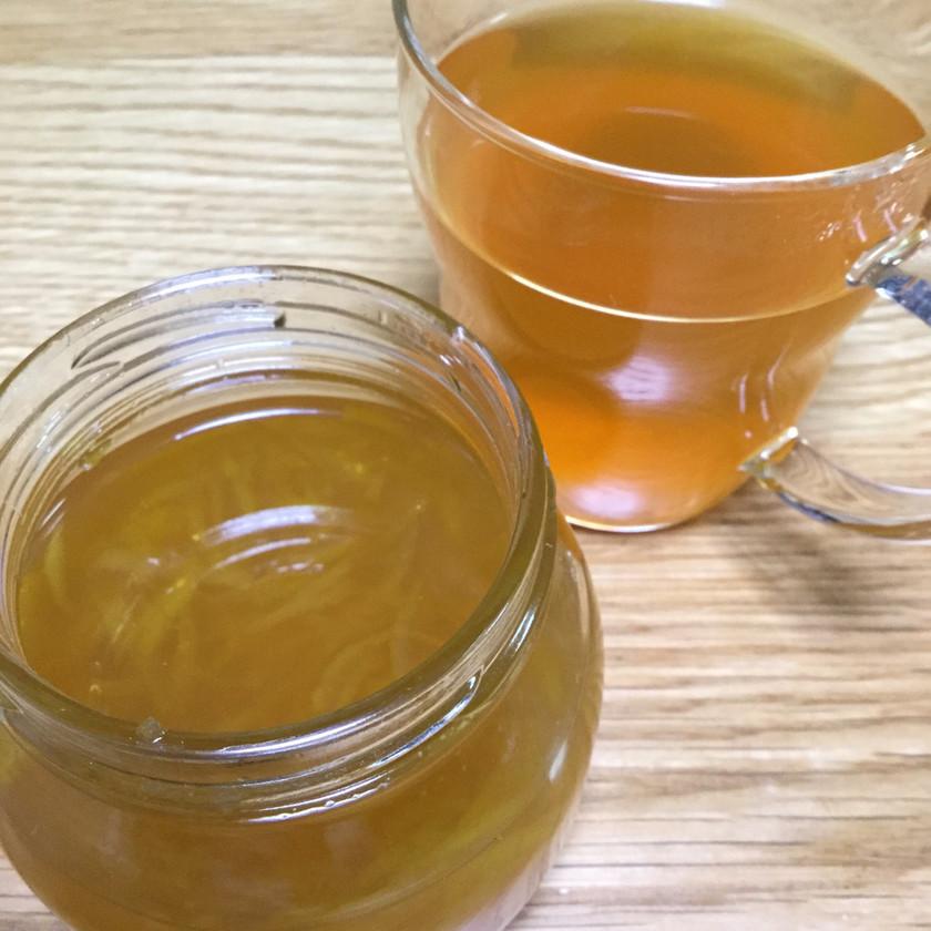 花ゆずで柚茶  紅茶にいかが?(≧∇≦)