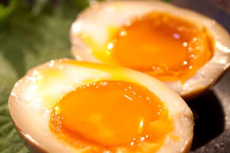 煮 卵 半熟