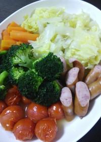 野菜を食べよう♪寒い日のポトフ