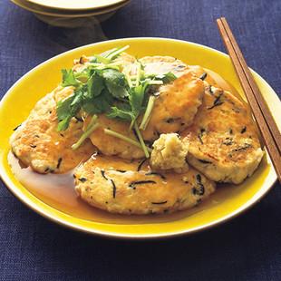 あんかけ豆腐バーグ