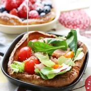 お食事パンケーキ「ダッチベイビー」の写真