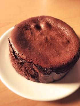 糖質制限◆本格濃厚ガトーショコラ