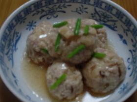 ~ふんわり~  豆腐団子の甘酢煮~