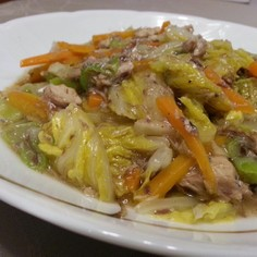 激ウマ簡単! 白菜とさば缶のサッと煮