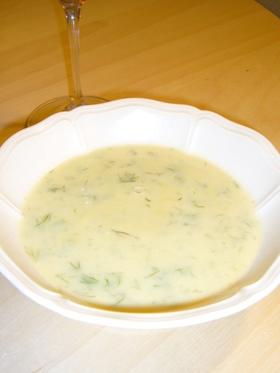 フェンネルのクリームポタージュスープ