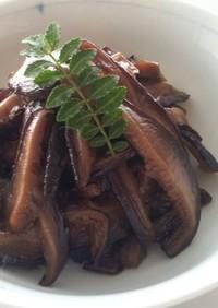 オリーブオイルが決め手!干し椎茸の甘煮