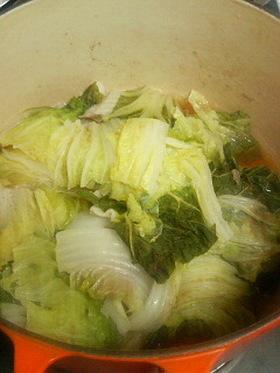 白菜と豚ばら肉のミルフィーユ