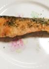 鮭のムニエル☆マヨ&コンソメ味☆