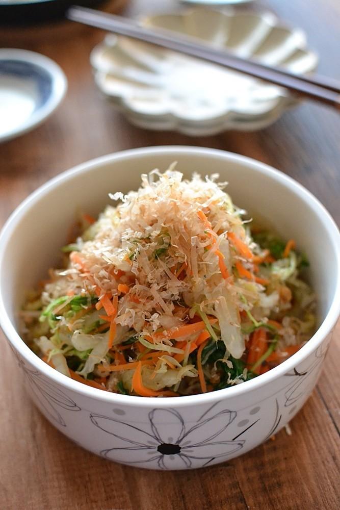 カリカリじゃこの白菜サラダ【作りおき】