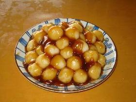 餅粉で作る☆もちもちっ☆みたらし団子