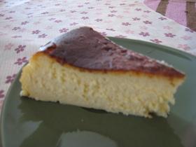 我が家の記念日チーズケーキ♪