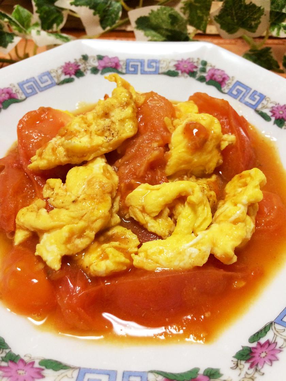 超簡単♡西紅柿炒鶏蛋♡トマトと卵の炒め物