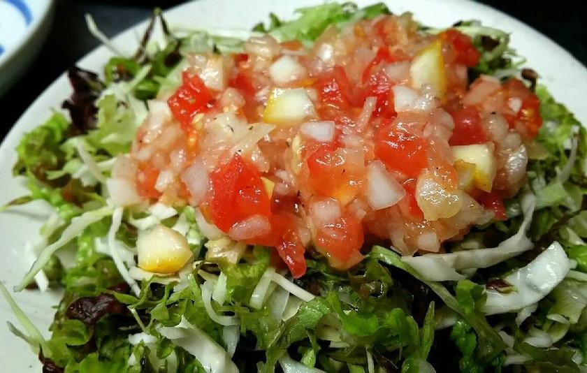 トマトとレモンの食べるドレッシング