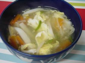 野菜とマロニーのトロトロコンソメスープ♪