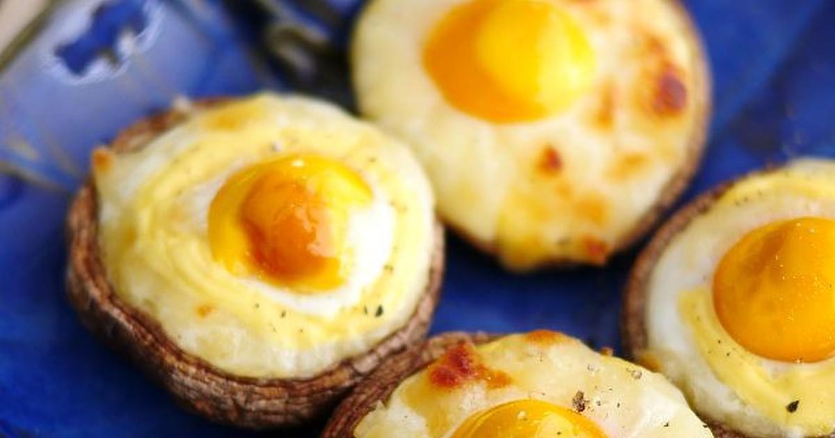 うずら卵と椎茸のマヨチーズ焼き by putimiko [クックパッド] 簡単おいしいみんなのレシピが256万品