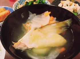 塩辛い鮭のリメイク 三平汁
