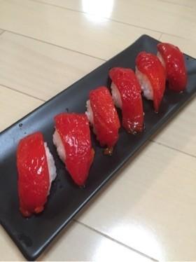 偽☆漬けマグロ寿司!