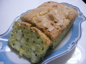 黒ゴマ&クリームチーズ☆パウンドケーキ