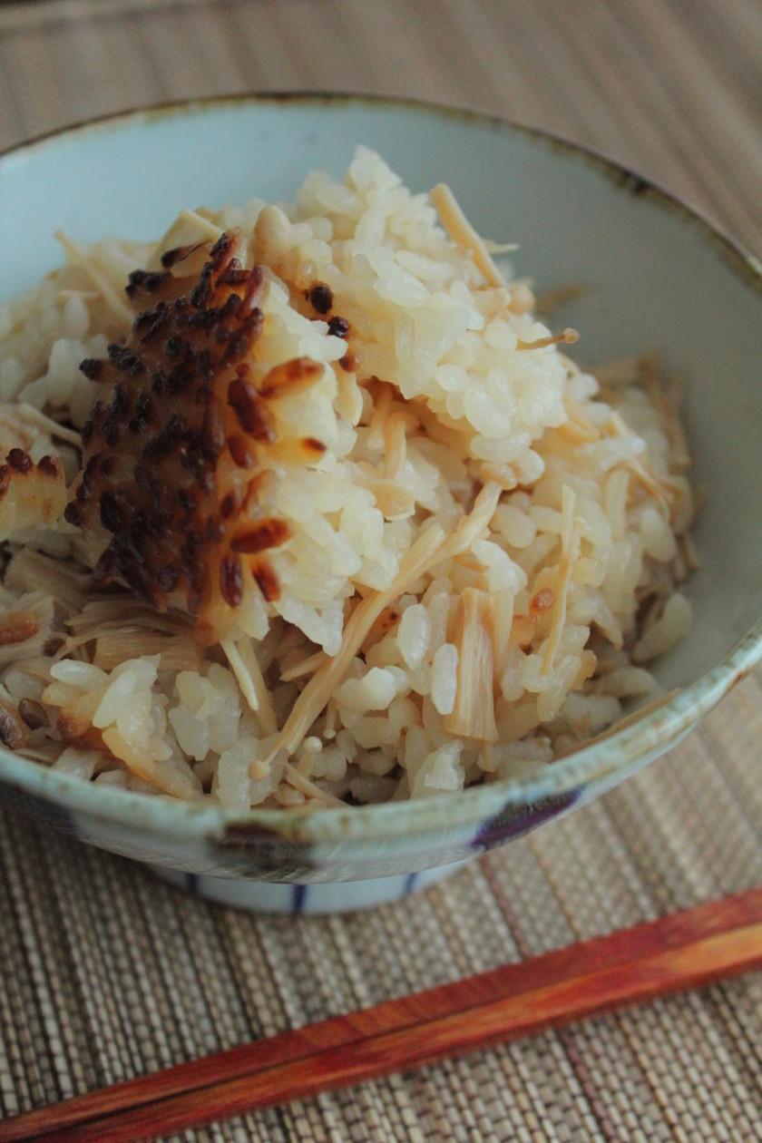 ◆ 干しえのきご飯 ◆