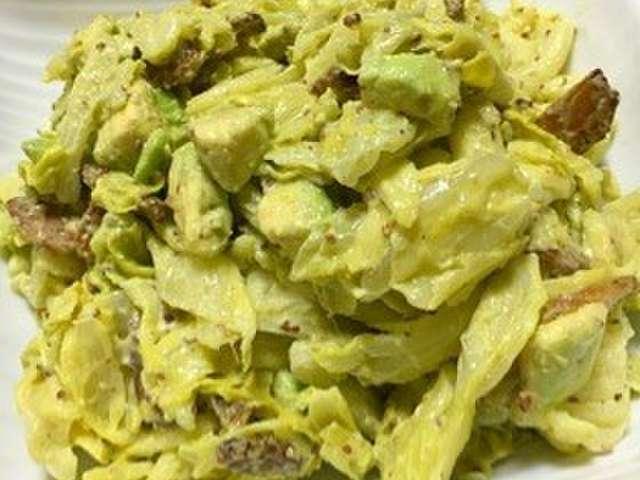 アボカド キャベツ サラダ