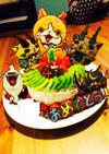 妖怪ウォッチケーキ☆チョコプレート