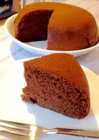 計量簡単♪炊飯器で生チョコケーキ☆