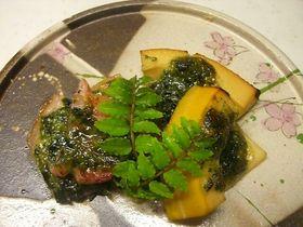 筍の木の芽 味噌焼き