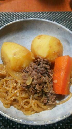 長島特産品馬鈴薯!で、うまっ肉じゃが!